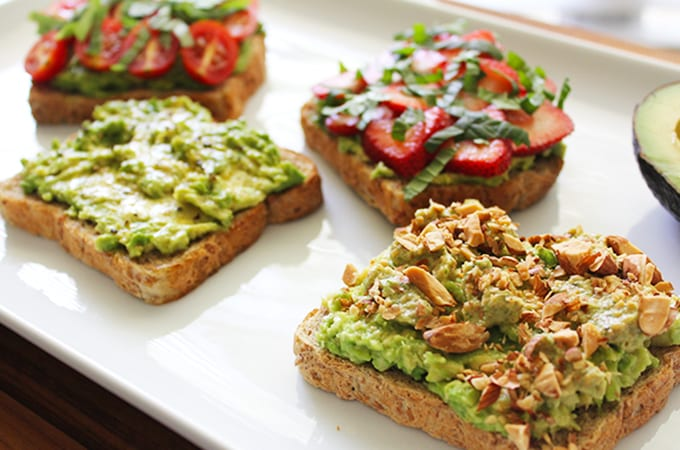 4 Ways to Take Your Avocado Toast up a Notch