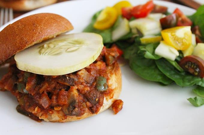 vegetarian sloppy joes recipe