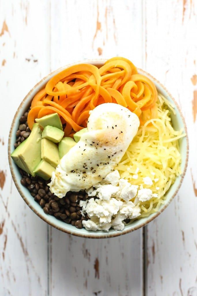 Lentil-Spaghetti-Squash-Breakfast-Bowl-5
