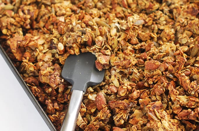 No-Sugar Added Granola Clusters