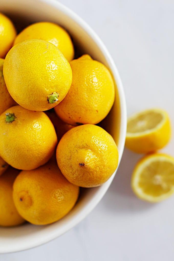 hot lemon ginger detox tonic