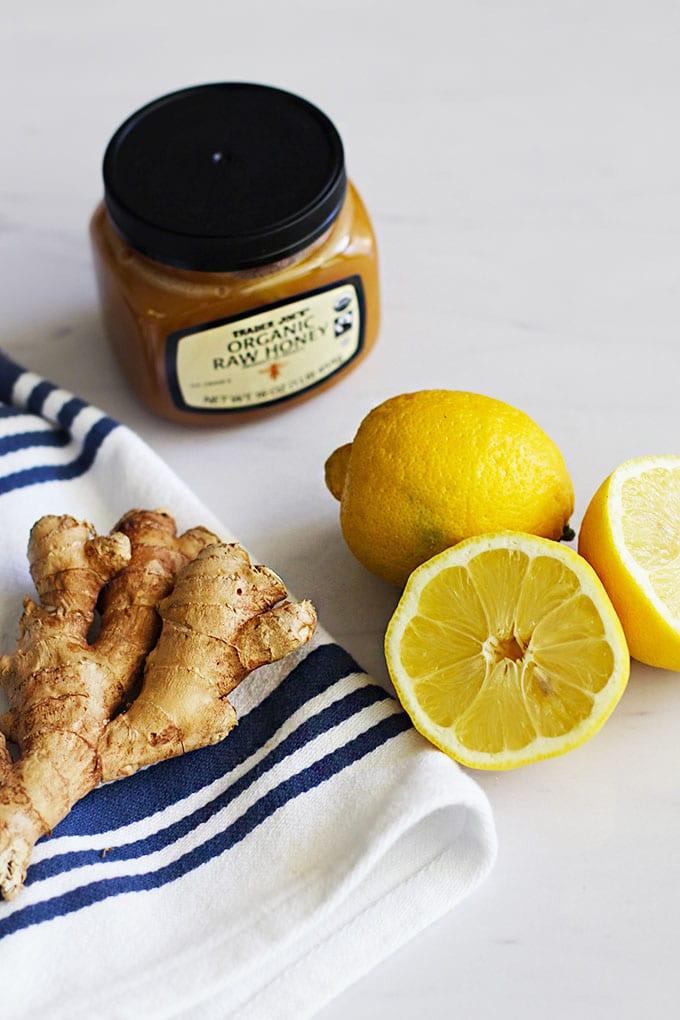 lemon ginger detox tonic ingredients
