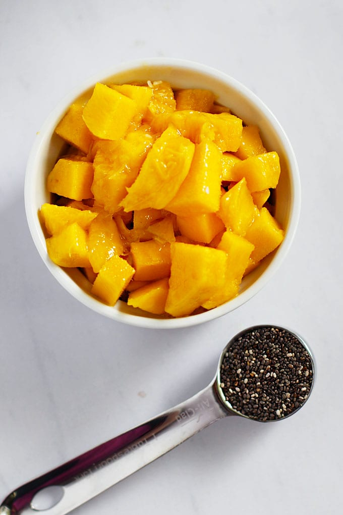mango coconut chia pudding ingredients