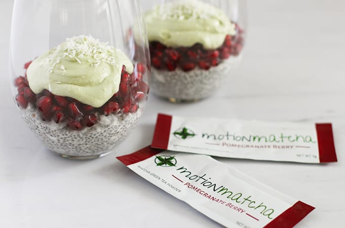 motion matcha pomegranate berry