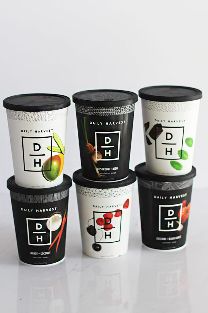 30-Second Smoothie and Soup Cups via Daily Harvest | Get 3 FREE Cups with your first order!