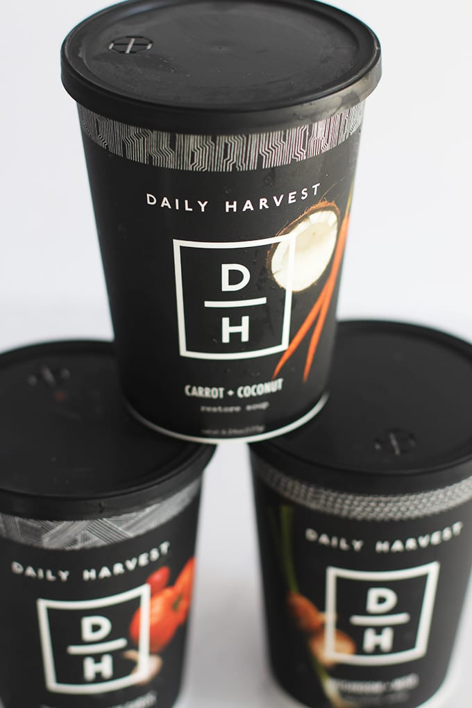 "30-Second Superfood Soups via Daily Harvest | Get 3 FREE Soups with your first order using code ""FITLIVINGEATS"""