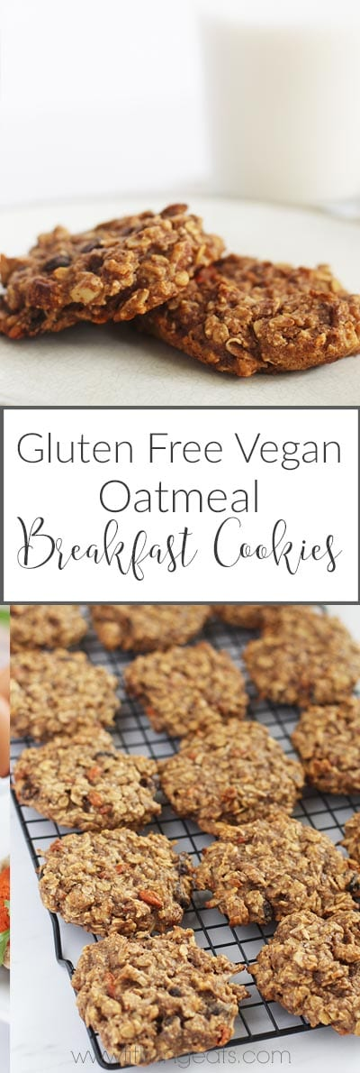 oatmeal breakfast cookies pinterest