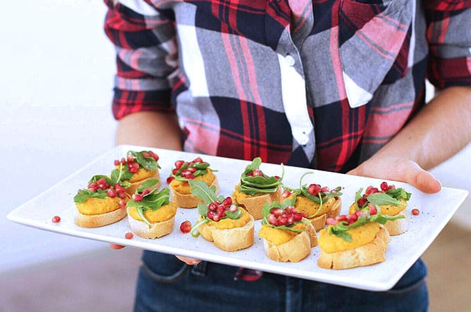 pumpkin crostini featured