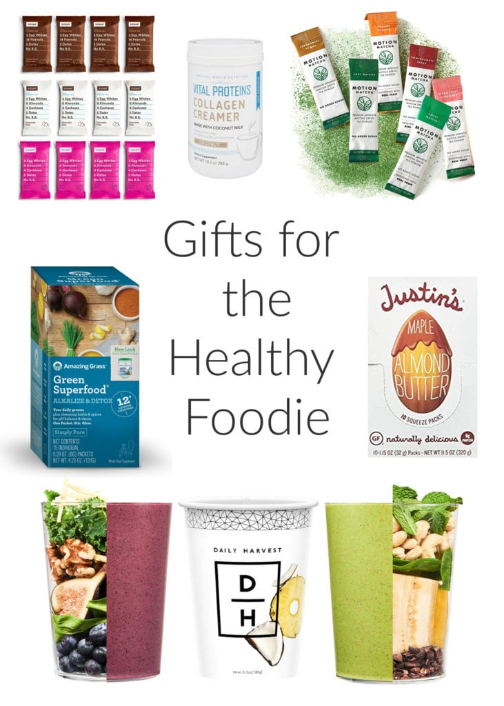 gift guide for the healthy foodie