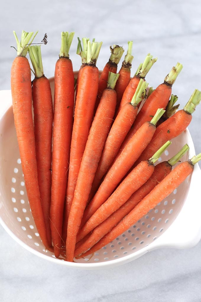 Simply Roasted Pomegranate Carrots