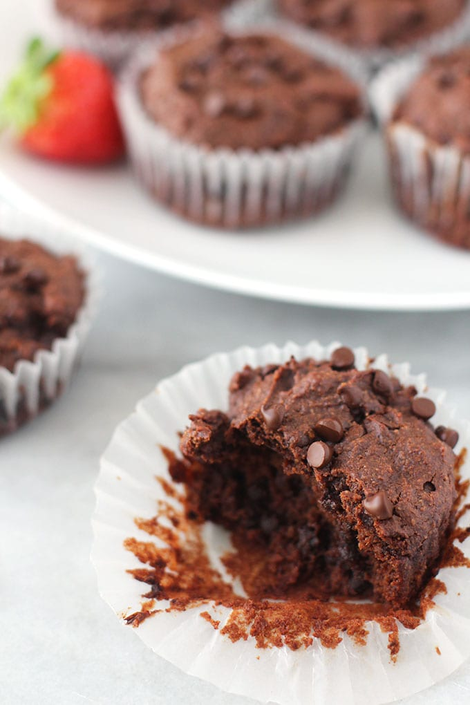 sweet potato brownie muffins 3