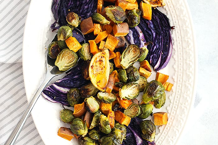 Sheet Pan Roasted Veggies Fall Edition Fitliving Eats By Carly Paige