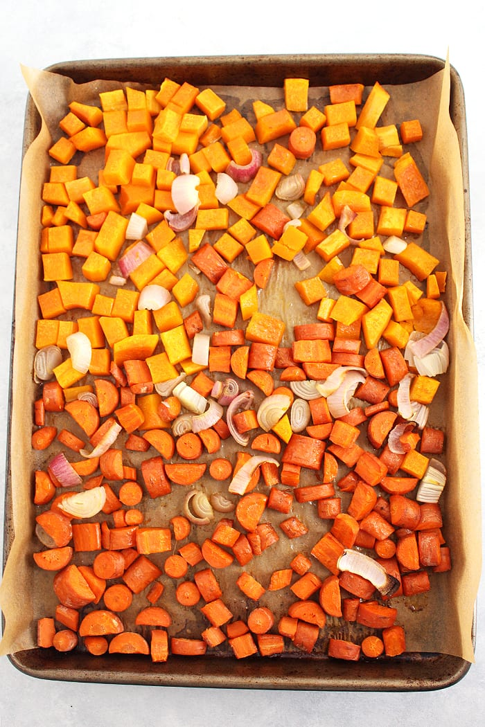 FitLiving Eats by Carly Paige - roasted butternut squash