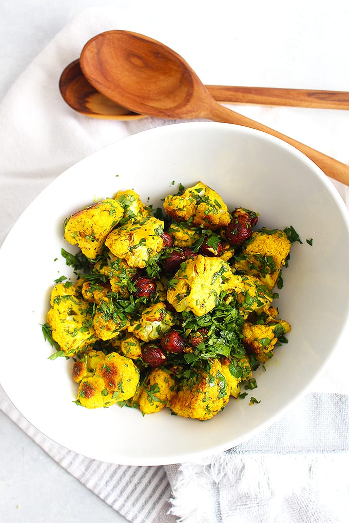 roasted turmeric cauliflower 2