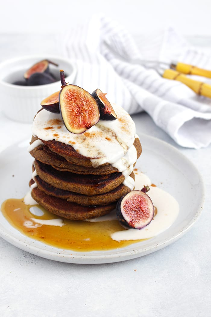 FitLiving-Eats-by-Carly-Paige_ buckwheat pumpkin pancakes _2