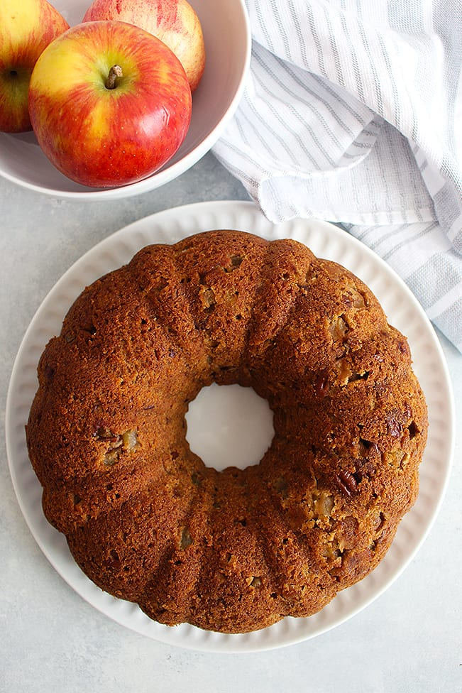 FitLiving-Eats-by-Carly-Paige_fresh apple pound cake 1