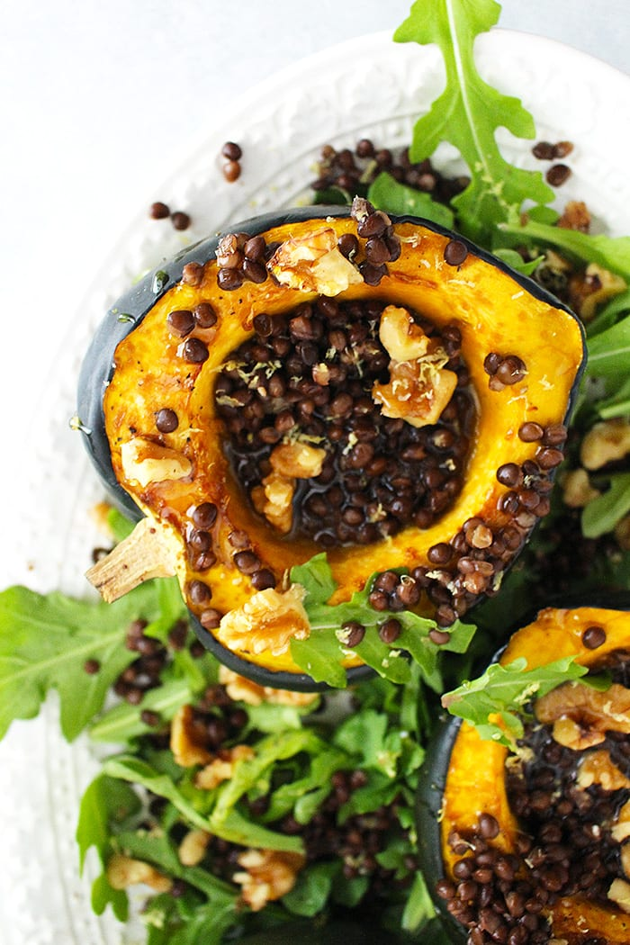 FitLiving Eats by Carly Paige - Recipe Stuffed Acorn Squash 3