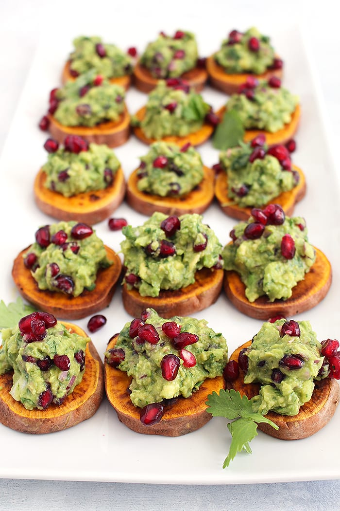 FitLiving Eats by Carly Paige - Recipe - pomegranate guacamole 1