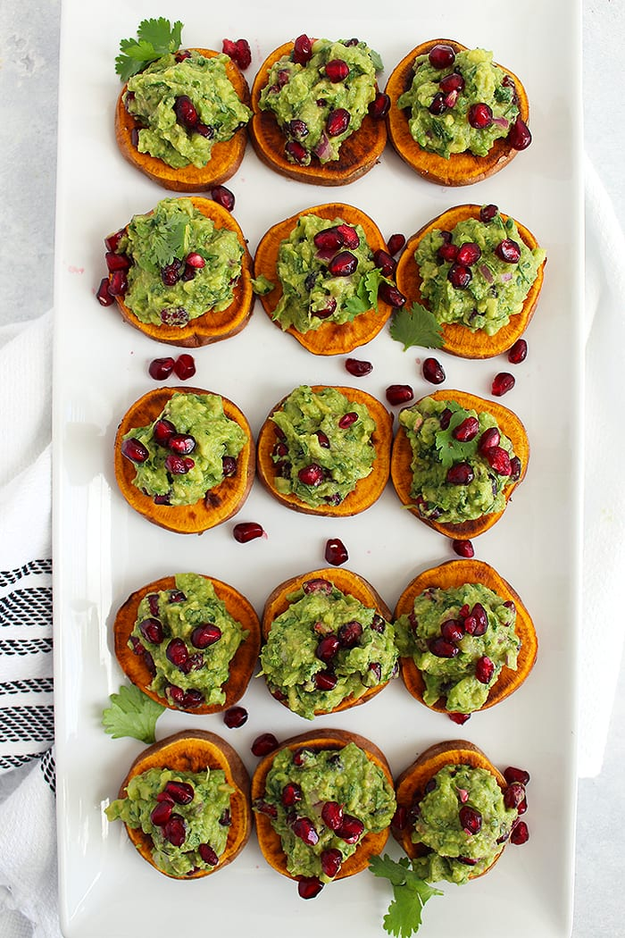 FitLiving Eats by Carly Paige - Recipe - pomegranate guacamole 2
