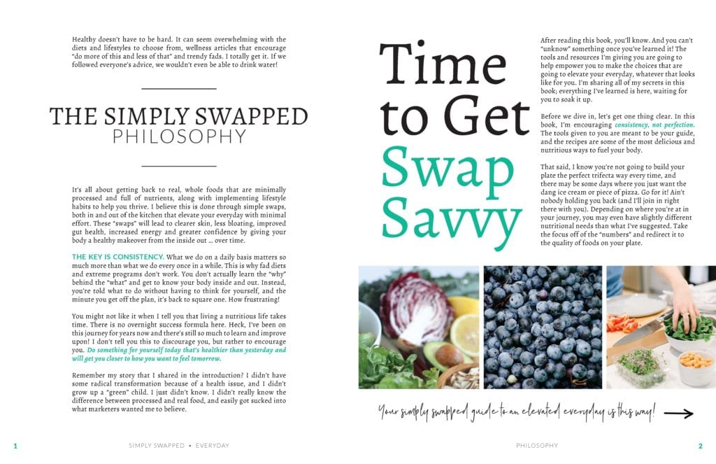 Simply Swapped Everyday By Carly Paige