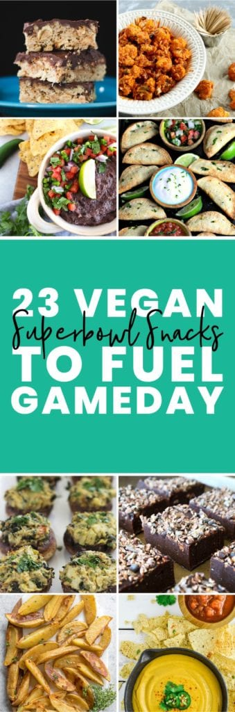 FitLiving Eats by Carly Page - 23 Vegan Superbowl Snacks - PIN-01