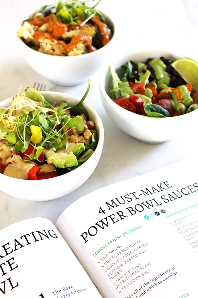 FitLiving Eats by Carly Paige - Recipe - power bowl sauces 1
