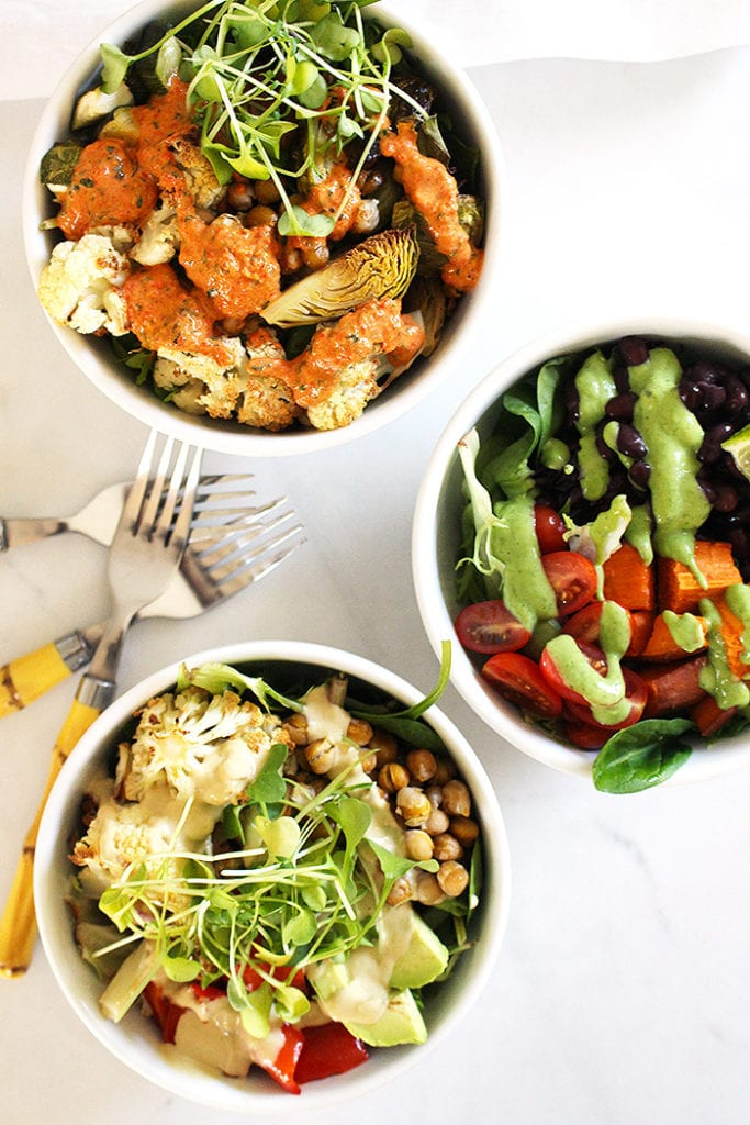 FitLiving Eats by Carly Paige - Recipe - power bowl sauces 3