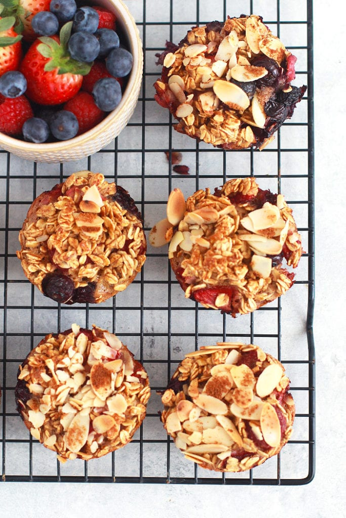 FitLiving Eats by Carly Paige - Recipes - berry oatmeal cups 2