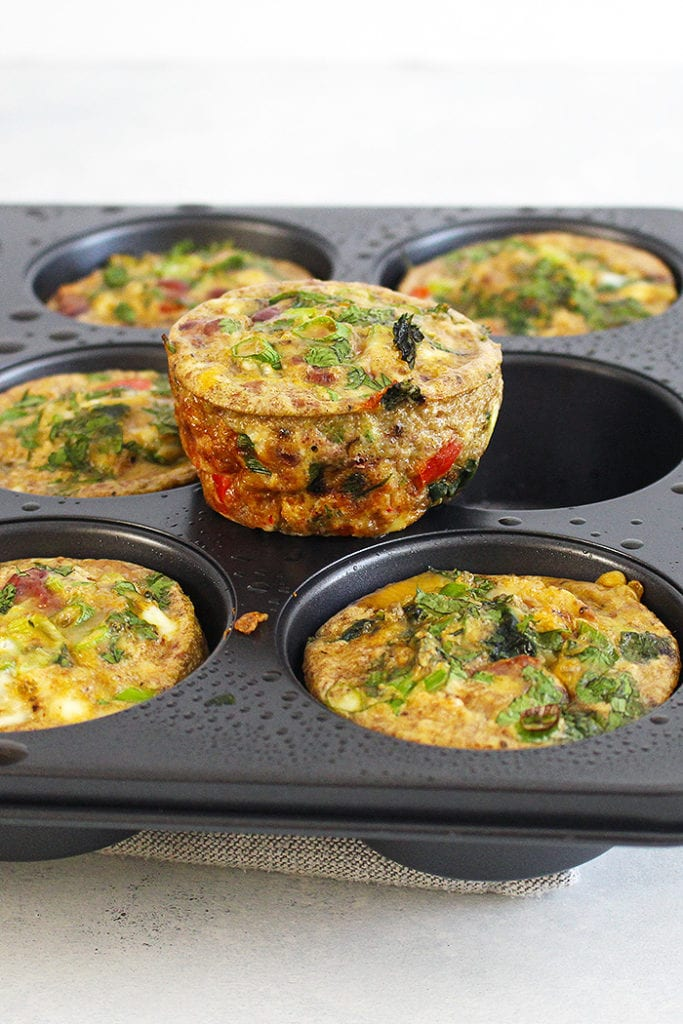 FitLiving Eats by Carly Paige - Simple Swaps for Healthy Morning - egg muffins