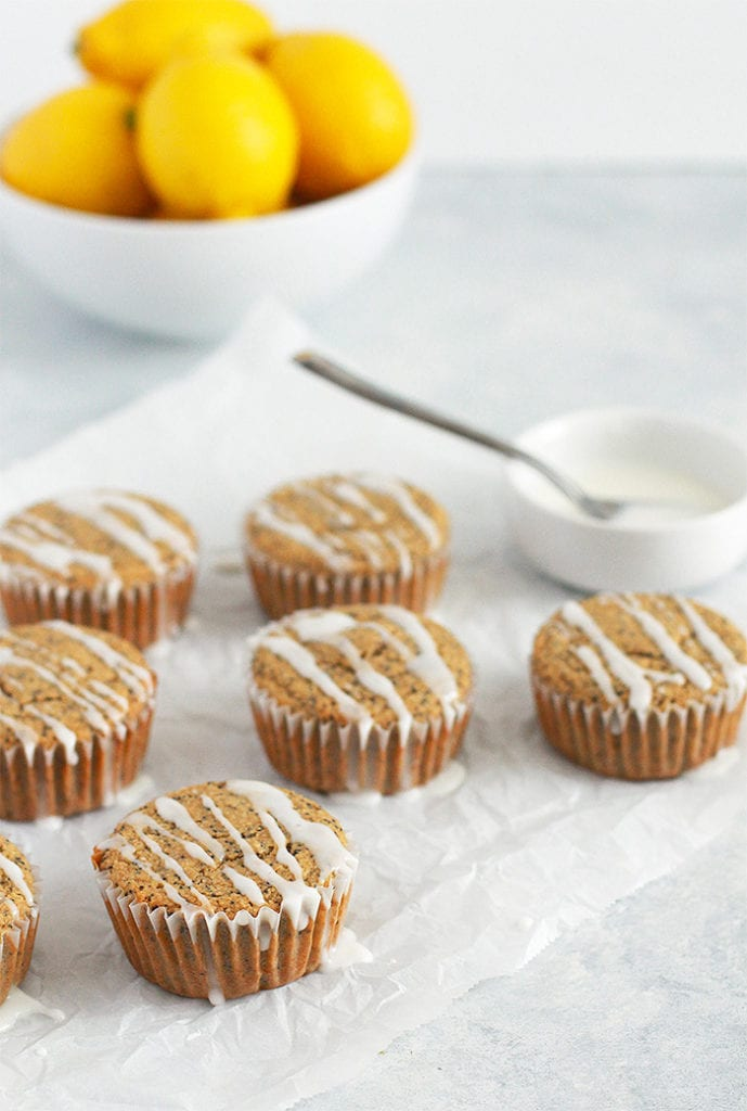 FitLiving Eats by Carly Paige RECIPE lemon poppyseed muffins 1
