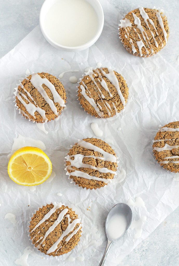 FitLiving Eats by Carly Paige RECIPE lemon poppyseed muffins 2
