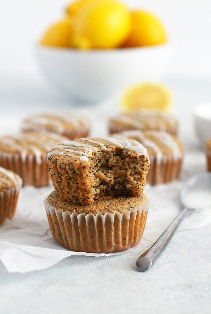 FitLiving Eats by Carly Paige RECIPE lemon poppyseed muffins 5