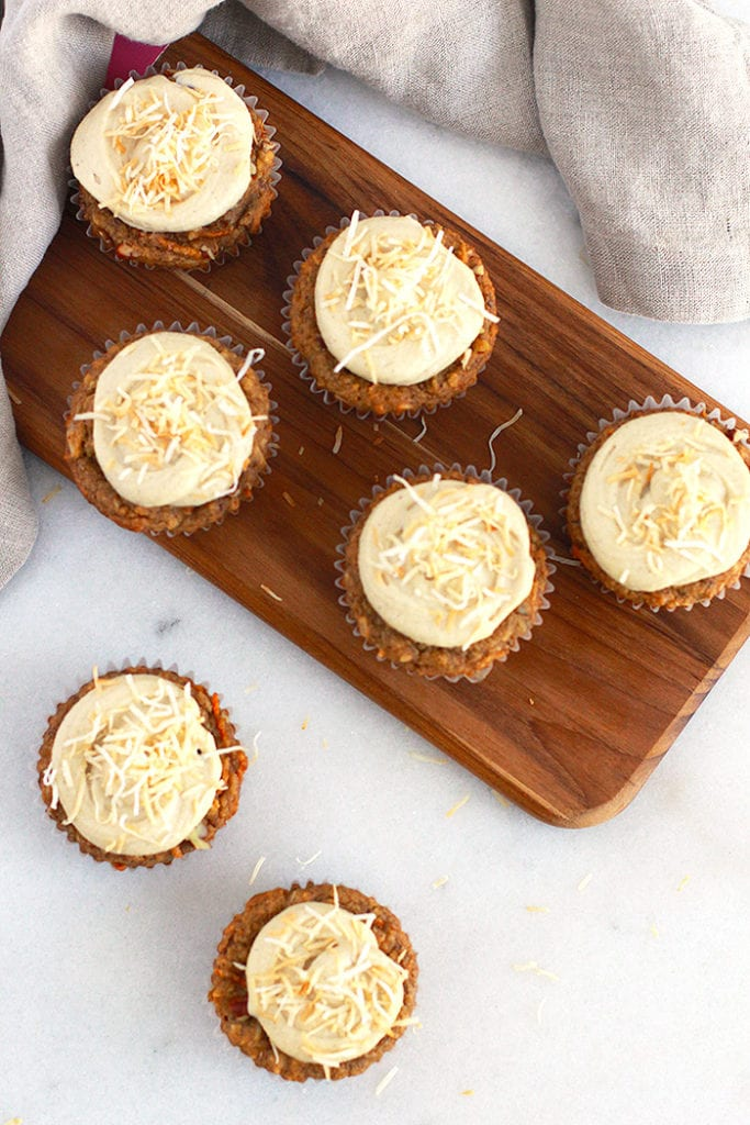 FitLiving Eats by Carly Paige - carrot cake muffins 3