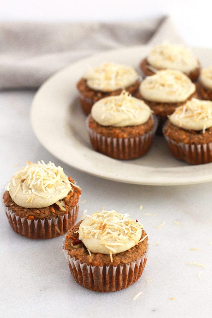 FitLiving Eats by Carly Paige - carrot cake muffins 5