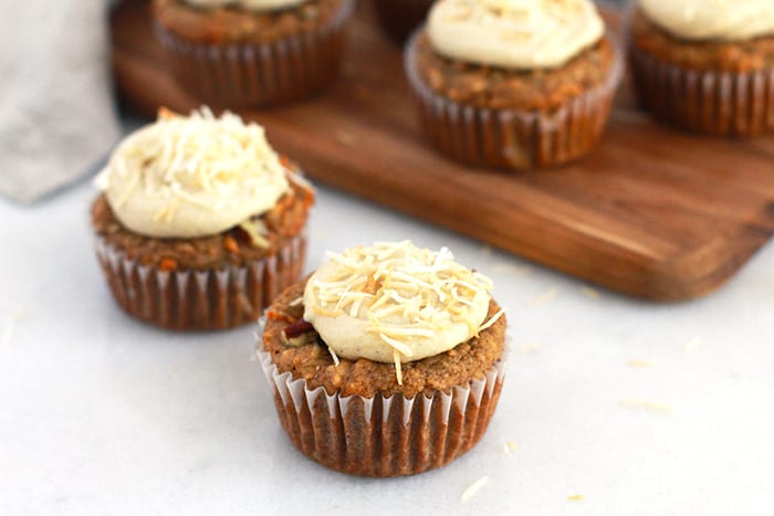 muffins frosting