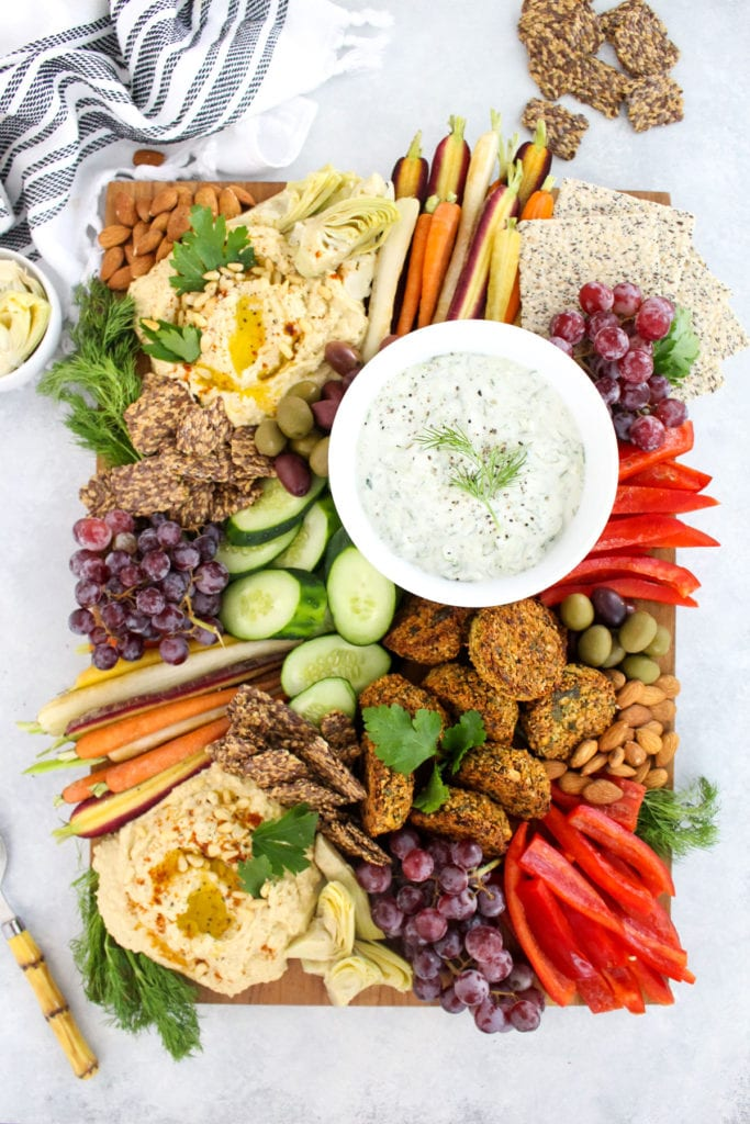How To Build A Healthy Mediterranean Mezze Platter Fitliving Eats By Carly Paige