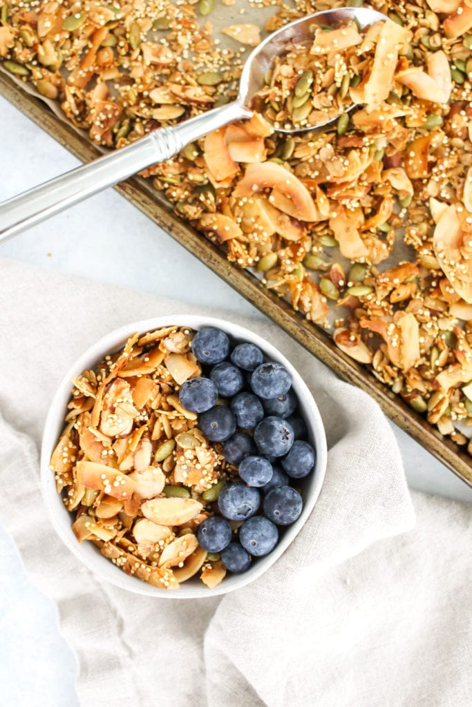 Healthy-Homemade-Crunch-Granola-Recipe---FitLiving-Eats-by-Carly-Paige---3