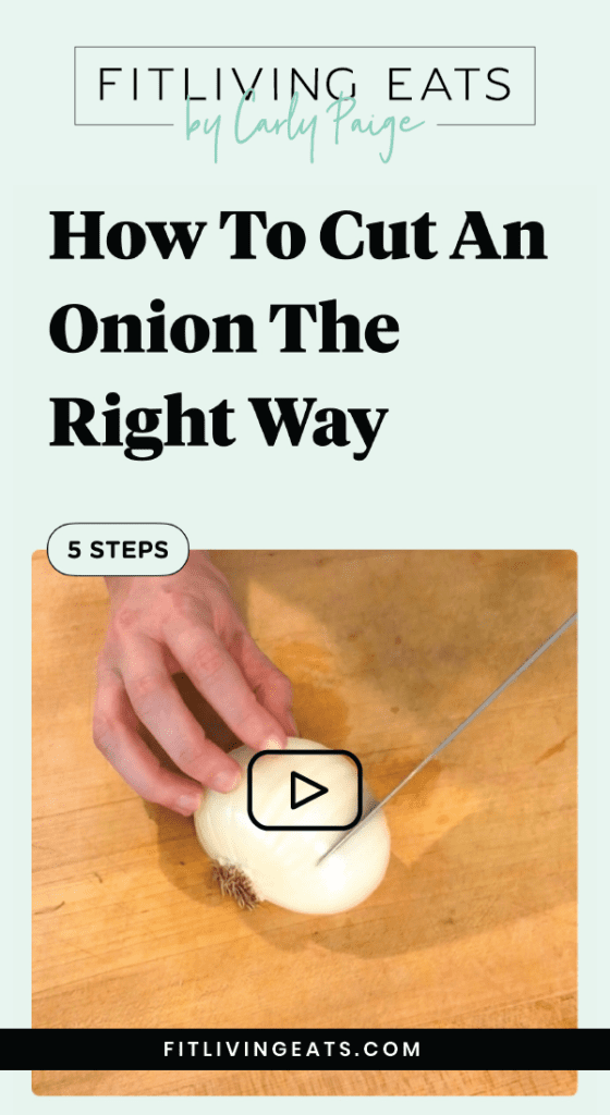How to Cut an Onion the Right Way step-by-step tutorial
